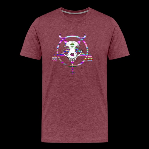 glitch cat - T-shirt Premium Homme