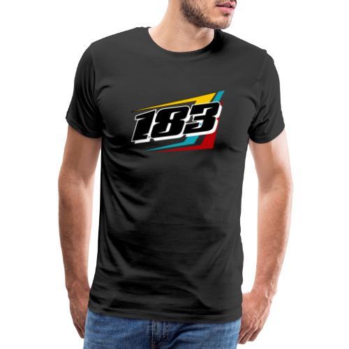 183 Charlie Guinchard Brisca F2 2021 front & back - Men's Premium T-Shirt