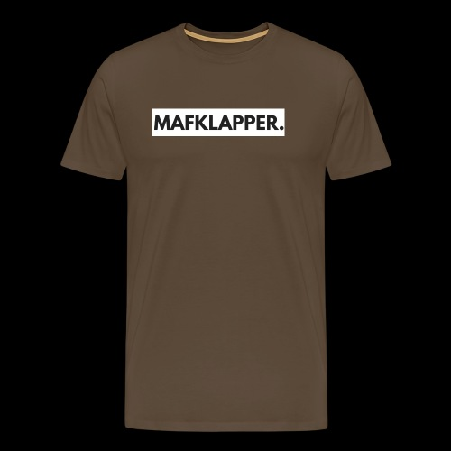 MAFKLAPPER. - Mannen Premium T-shirt