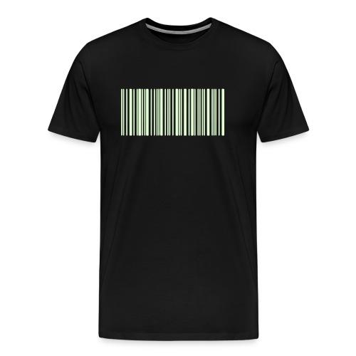 Laurent Barcode - T-shirt Premium Homme