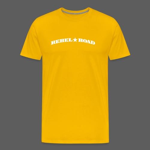 RR Curved Logo - Men's Premium T-Shirt