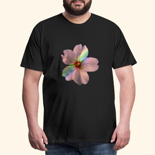 zauberhafte Blüte in coral, Regenbogen - Männer Premium T-Shirt
