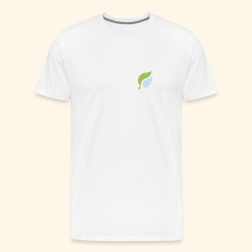 Akan White - Miesten premium t-paita