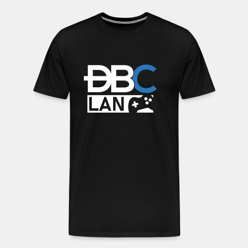 dbc lan logo big png - T-shirt Premium Homme