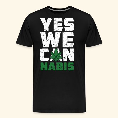 Yes We Can(nabis) - 420 Times - Männer Premium T-Shirt