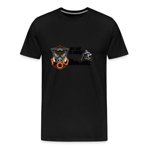 FoD Boar mtb life downhill png - Men's Premium T-Shirt
