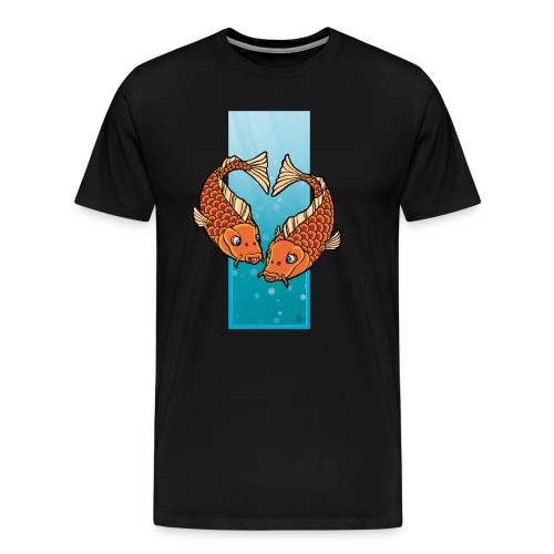 The Pisces-heart - Männer Premium T-Shirt