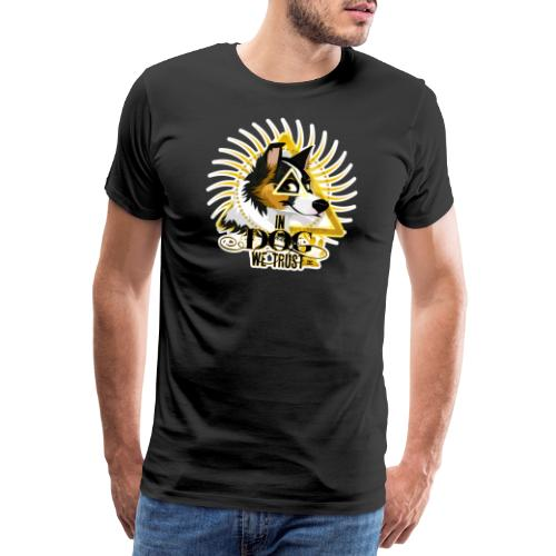 In Dog We Trust - Scott - Men's Premium T-Shirt