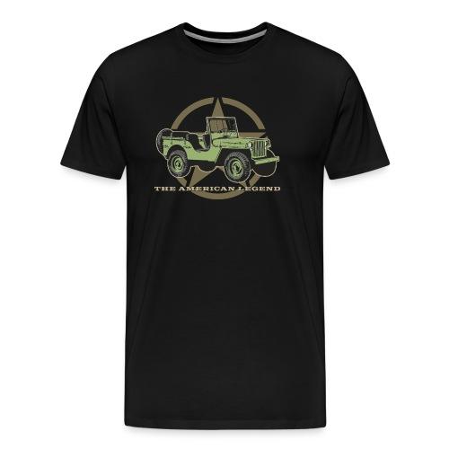 The American Legend - Männer Premium T-Shirt