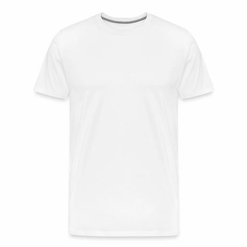 MadVexTV Logo Weiss - Männer Premium T-Shirt