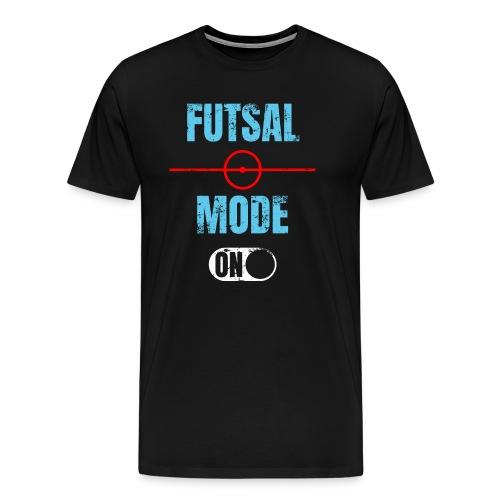 Futsal mode on Futsalspieler Hallenfussball - Männer Premium T-Shirt