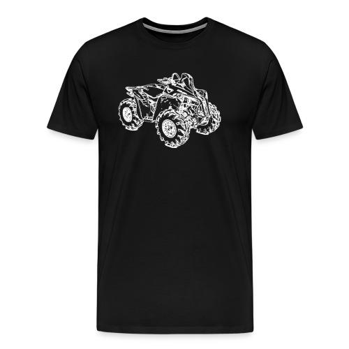 Quad ATV Mudracer - Männer Premium T-Shirt