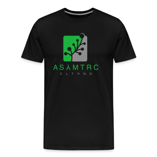 Asymetric Clothing - Imperfection at it's finest - Männer Premium T-Shirt