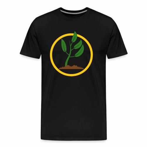 Setzlingemblem - Männer Premium T-Shirt