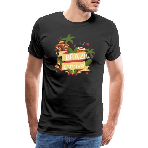 Encontro Brasil Carnival do Rio - Men's Premium T-Shirt