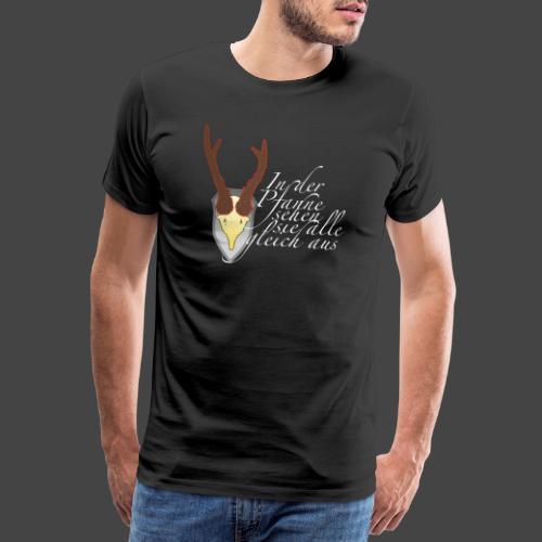 Jägershirt für den Topfjäger - Männer Premium T-Shirt