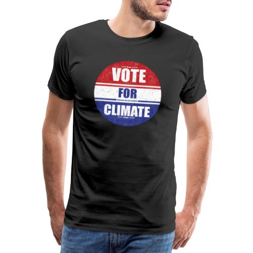 Vote for Climate - Männer Premium T-Shirt
