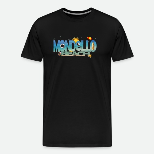 Mondello Beach, Sole, Mare, Estate.. - Maglietta Premium da uomo