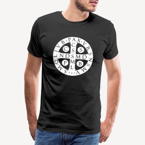 BENEDICTINE MEDAL - Men's Premium T-Shirt