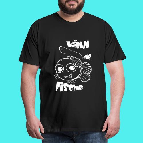 kämm die fische - Männer Premium T-Shirt
