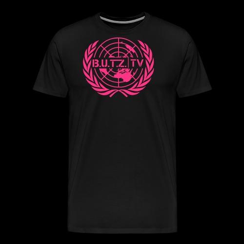 BUTZ MAIN LOGO - Männer Premium T-Shirt