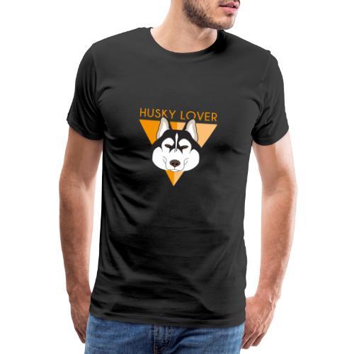 Husky - Brown - Maglietta Premium da uomo