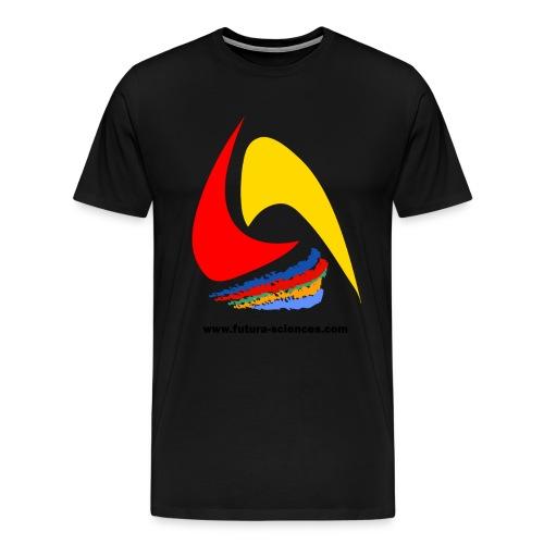 brand texte noir - T-shirt Premium Homme