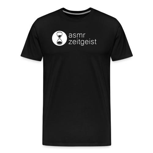 asmr zeitgeist logo - Men's Premium T-Shirt