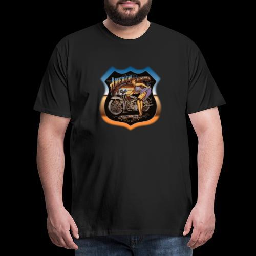 AMERICAN CLASSIC - Männer Premium T-Shirt