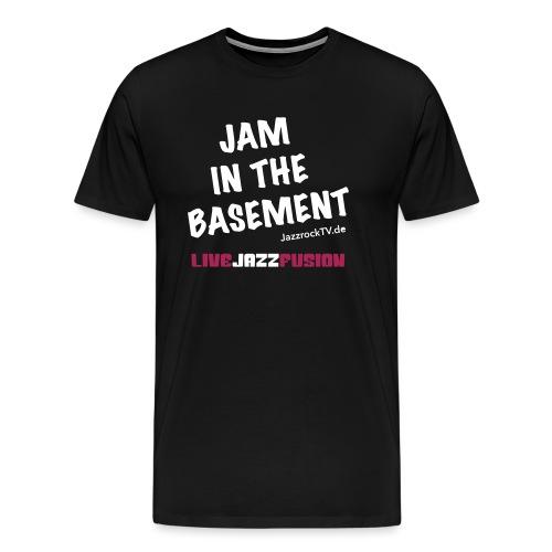JazzrockTV - Jam In The Basement - Männer Premium T-Shirt
