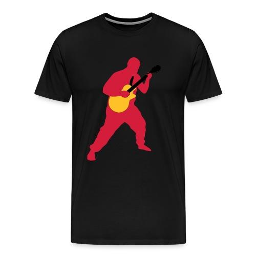 I play e-guitar for Jesus - Männer Premium T-Shirt