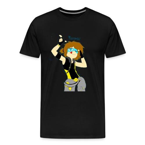 RICK-SENPAI - Men's Premium T-Shirt