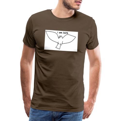 i am birb - Men's Premium T-Shirt