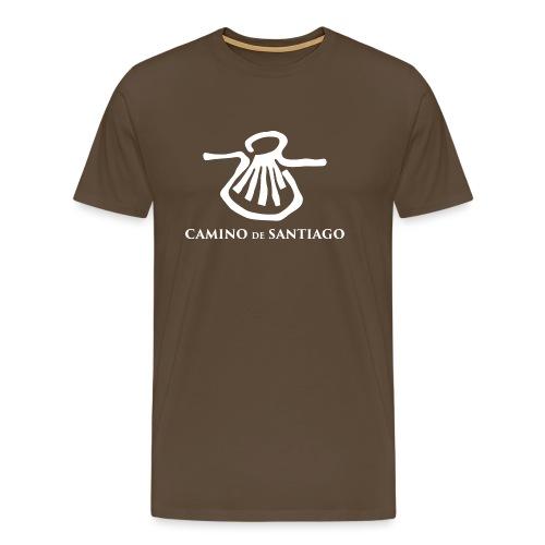 Camino de Santiago - Herre premium T-shirt