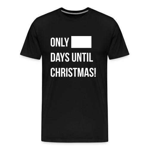 Christmas Countdown - Men's Premium T-Shirt