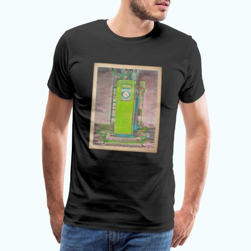 Vintage gas station - Men's Premium T-Shirt