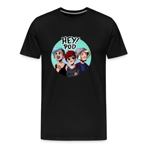 Heypod - Premium-T-shirt herr
