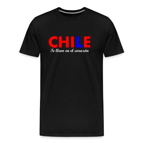 3 CHILENO DE CORAZÓN - Camiseta premium hombre
