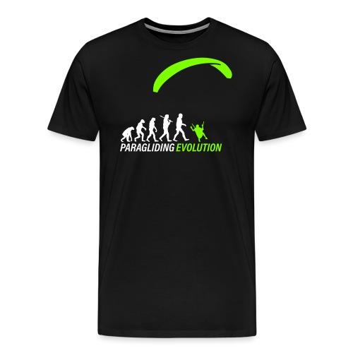 Paragliding Evolution - Männer Premium T-Shirt