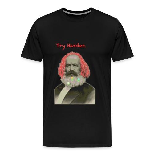 Try Harder, Comrade! - Men's Premium T-Shirt