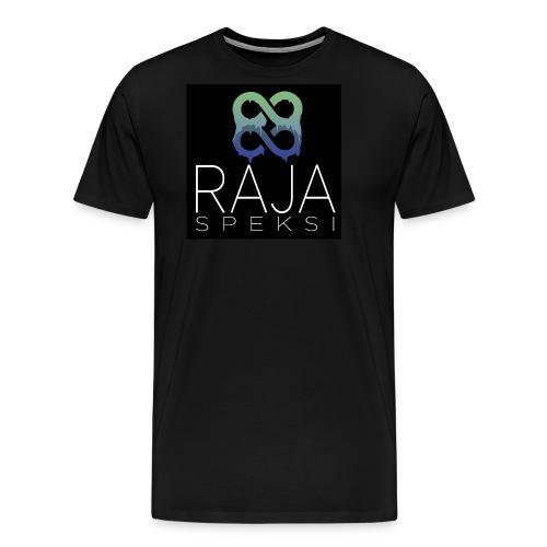 RajaSpeksin logo - Miesten premium t-paita