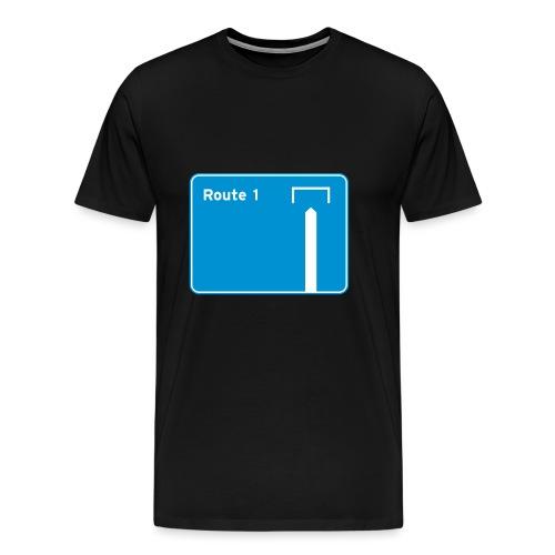 Route 1 - Men's Premium T-Shirt
