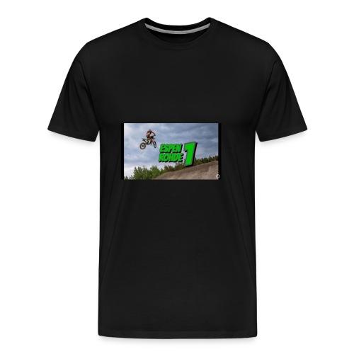 Espen rohde logo - Premium T-skjorte for menn