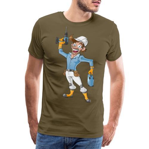 Handwerker Craftsman - Männer Premium T-Shirt