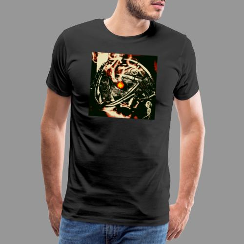 screams of the remains - never leave your path - Men's Premium T-Shirt