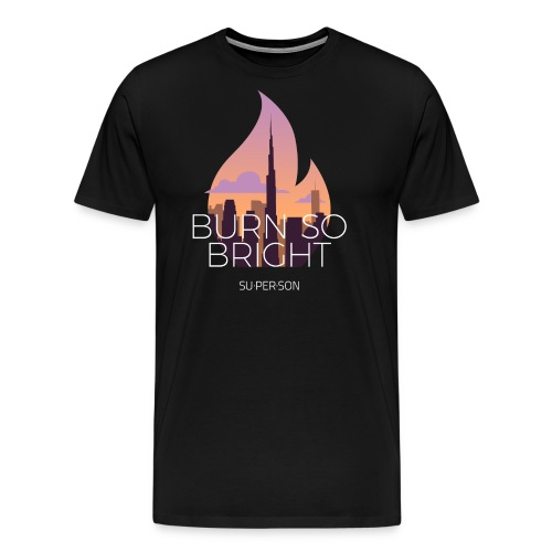 Burn So Bright - Herre premium T-shirt