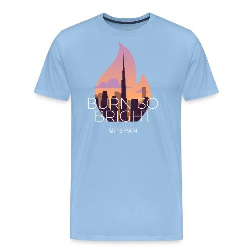 Burn So Bright - Herre premium T-shirt