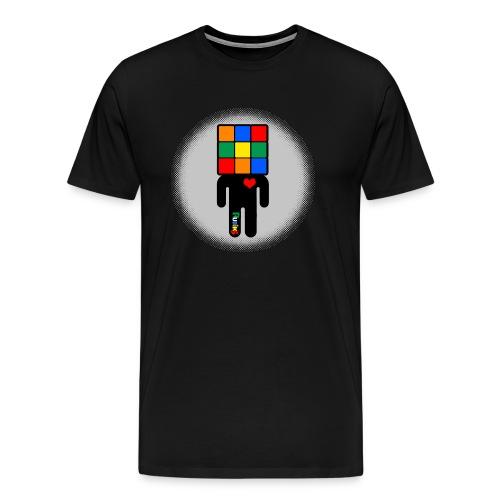 Rubik's Cube Manicon - Premium-T-shirt herr