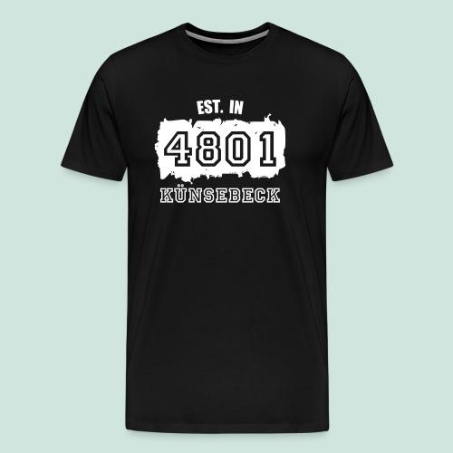 4801 Künsebeck - Established - Männer Premium T-Shirt