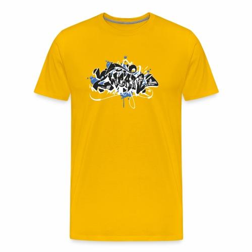 Dae 2Wear graffiti style ver01 black edt - Herre premium T-shirt